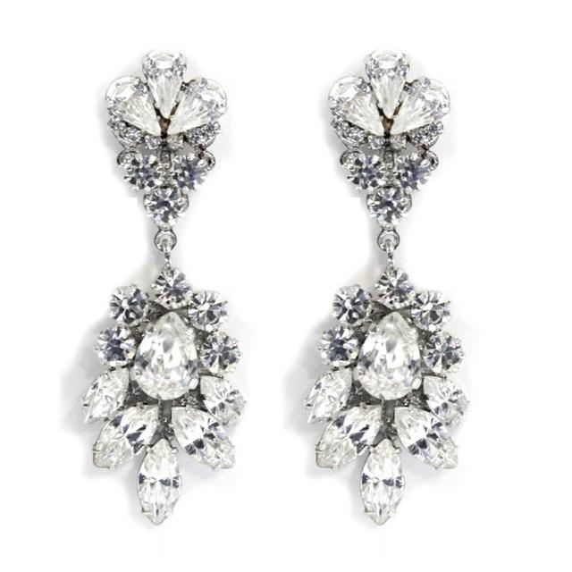 【Ti Adoro Jewelry】スワロフスキーbijouxイヤリング/ピアス