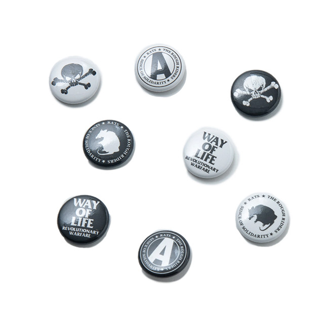 RATS(ラッツ) / BUTTON PACK(21'RA-0213)(缶バッジセット)