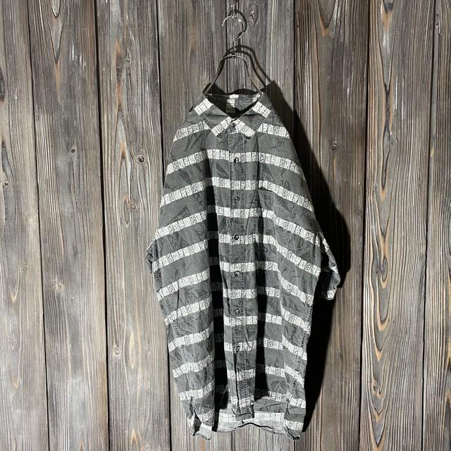 [used]design border shirt