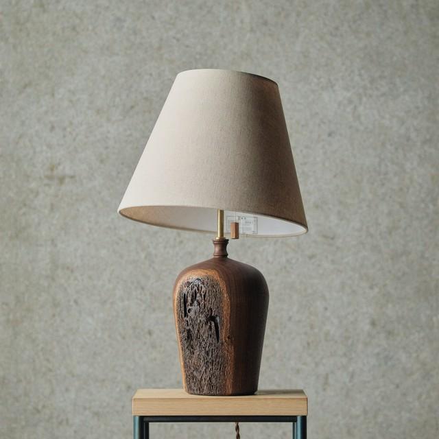 燈台 / Table Lamp-021 / ウォルナット
