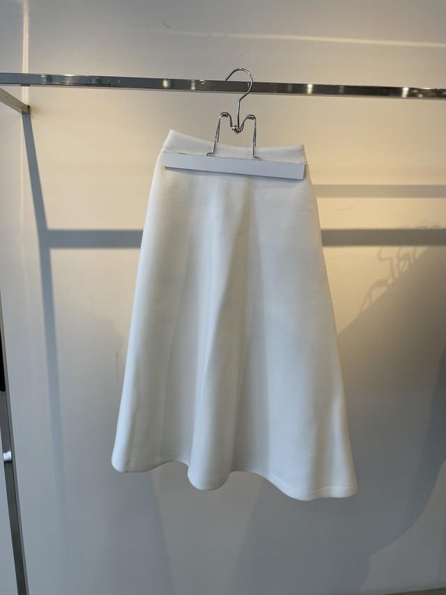 Eléna ボンディングスカート(WHITE)