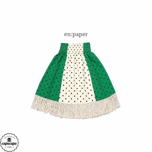 «sold out»«Jr.サイズ»«en paper» partyparty skirt パーティスカート