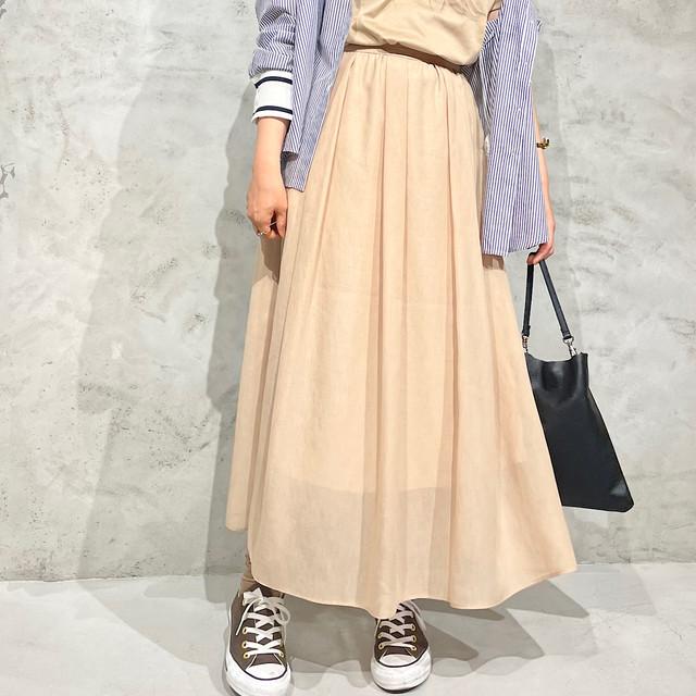 SONO/ソーノ シアータックギャザースカート S213SV034