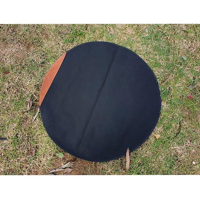 INOTA CIRCLE FLAMEPROOF MAT L (ストーブ用 難燃マット)