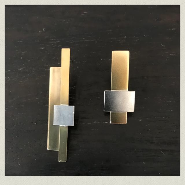 square  earring  2(pierce)SqE-2