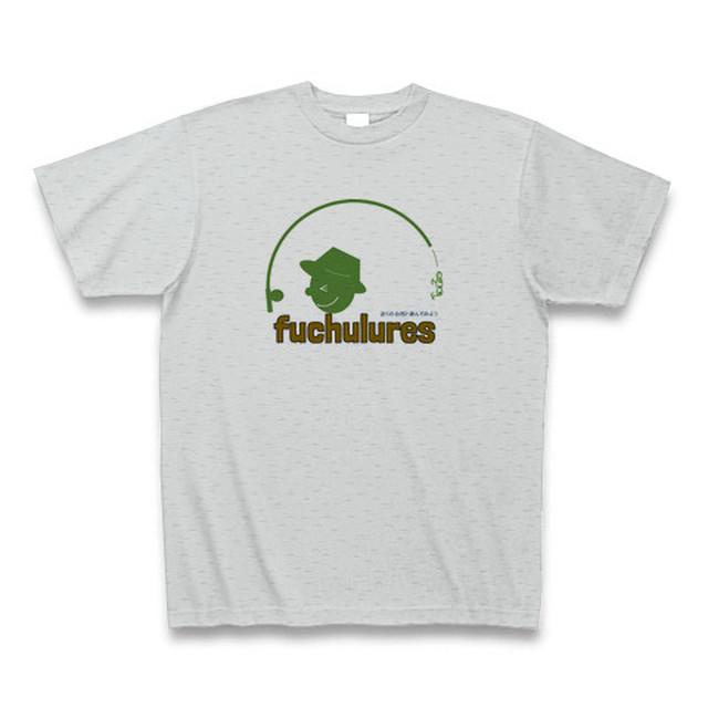 fuchurures キャストくんTシャツ(グレー×カーキ)