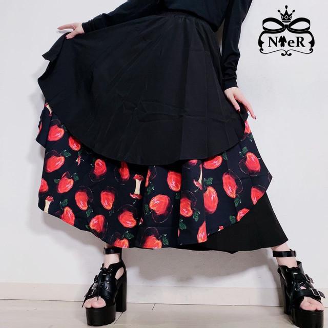 ORIGINAL FLARE SKIRT【赤林檎】