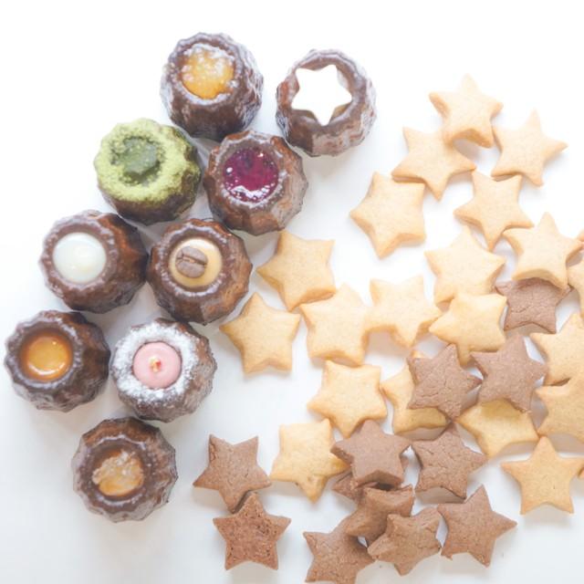 ほうき星セット(カヌレ2箱+クッキー2缶)