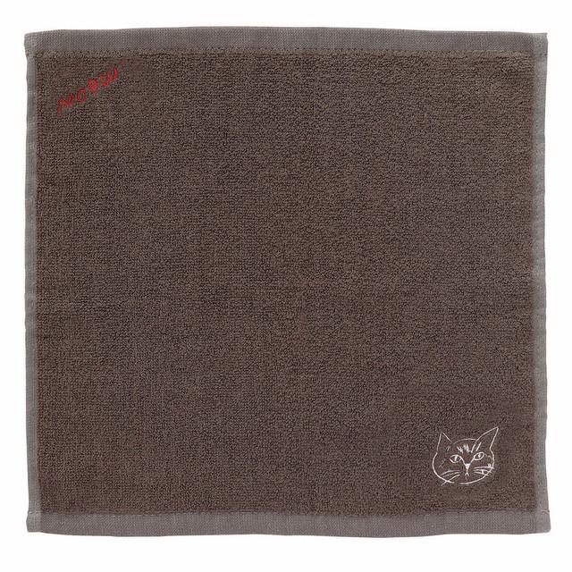 松尾ミユキ バンブーハンドタオル/ Tora 植物繊維(竹)100% 25x25cm MM569