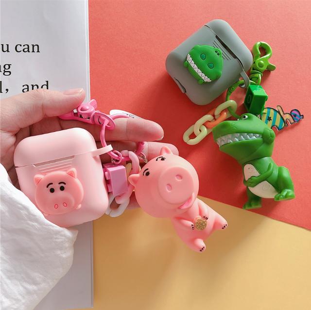 【オーダー商品】 Dinosaur&Pig airpods case