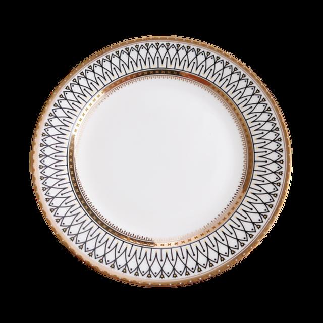 Gold line design frame plate 20.5cm  / ゴールドラインデザインフレームプレート 20.5cm