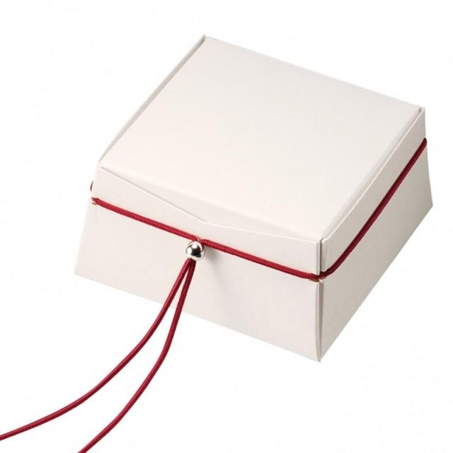 アクセサリー紙箱 オーガンジー巾着ポーチ付き組み立て箱 20個入り CPX-06-M
