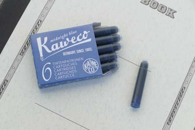 kaweco インクカートリッジ ミッドナイトブルー(6本入り)