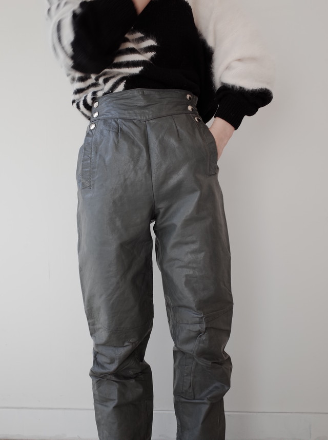 used leather pants