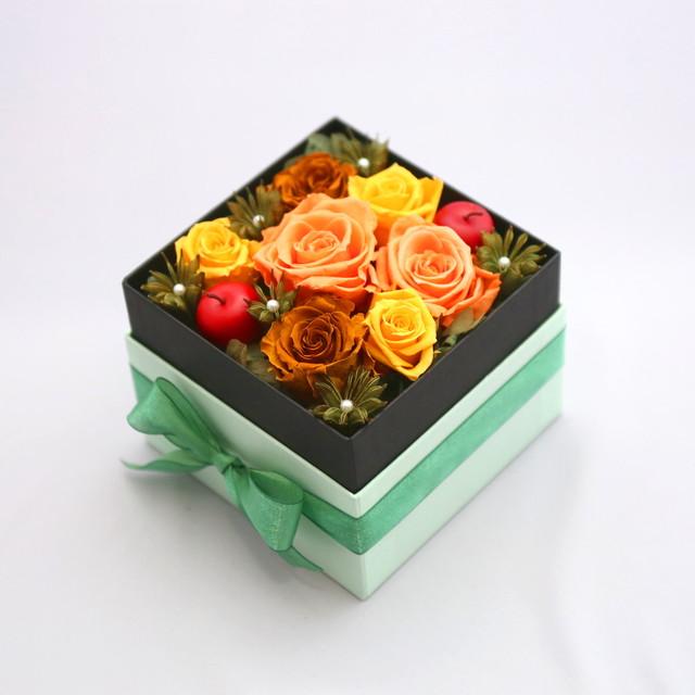 フラワーボックス(グリーン)|全2色