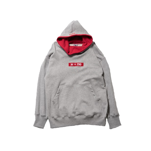 MY+ne MAGIC TAPE HOODIE / GRAY - メイン画像