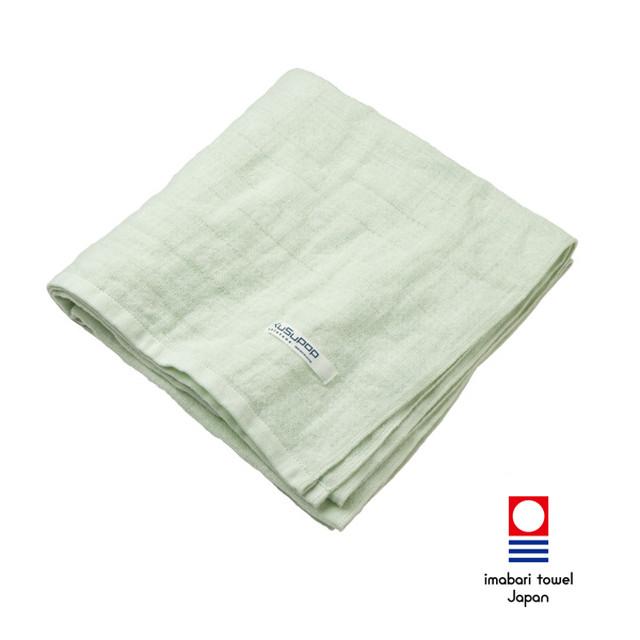 KuSu POP paletone 3重ガーゼバスタオル/グリーン 1-60070-11-G