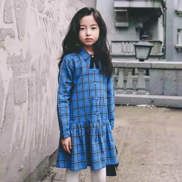 120cm〜大人サイズ♡ チェック シャツ ワンピース / お出かけ 誕生日 フレアスカート キッズ 子供服 女の子 リンクコーデ 親子リンクコーデ 姉妹 お揃い レディース2018