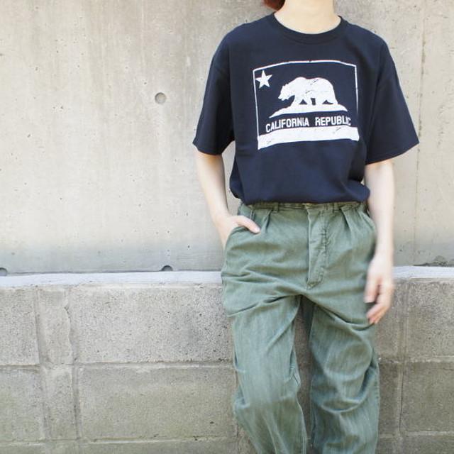 ハンドプリントTシャツ カリフォルニア