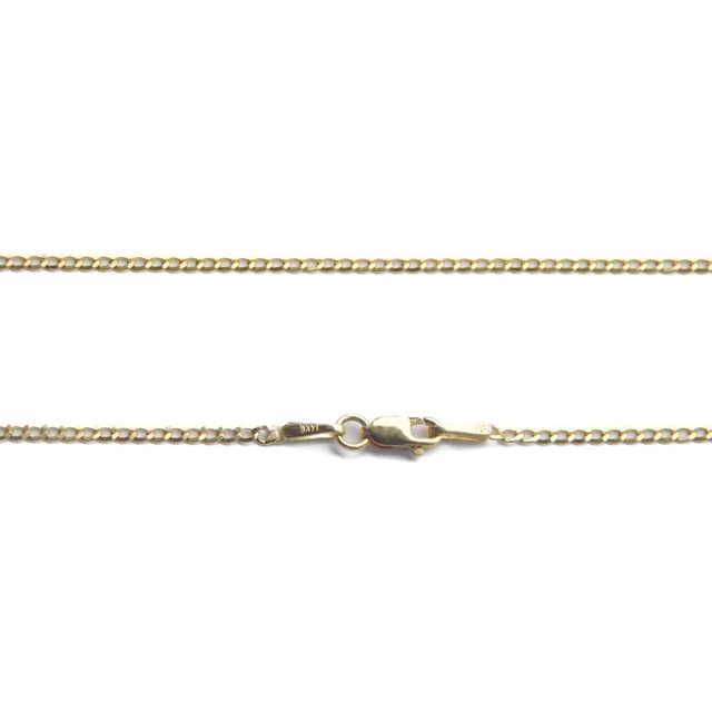 "14K 1.5mm 18"" Cuban Chain(18インチ)"
