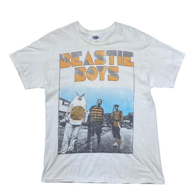 BEASTIE BOYS 2012 MEMBER TEE GILDAN LARGE 7193