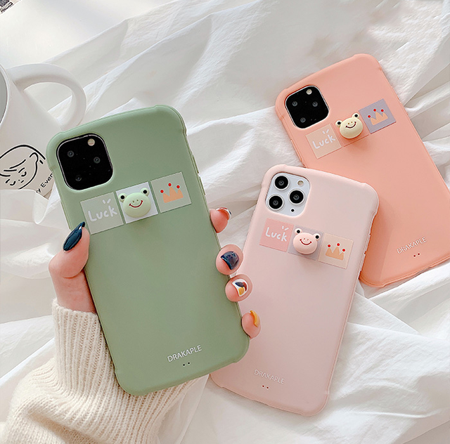 【オーダー商品】Cute frog iphone case