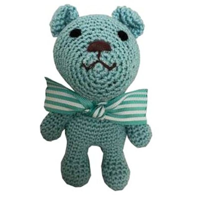 Luna Blue SNIFFANY TEDDY BLUE BEAR TOY(LB-58)
