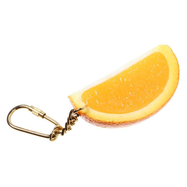 [0236]食品サンプル屋さんのキーホルダー(オレンジ)
