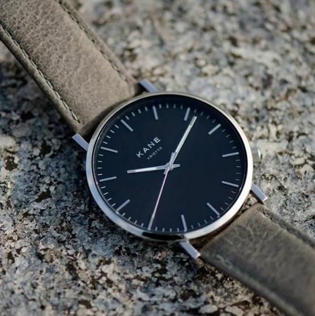 ■ケイン ブラックコード アーバングレー 腕時計 39㎜ BC-04