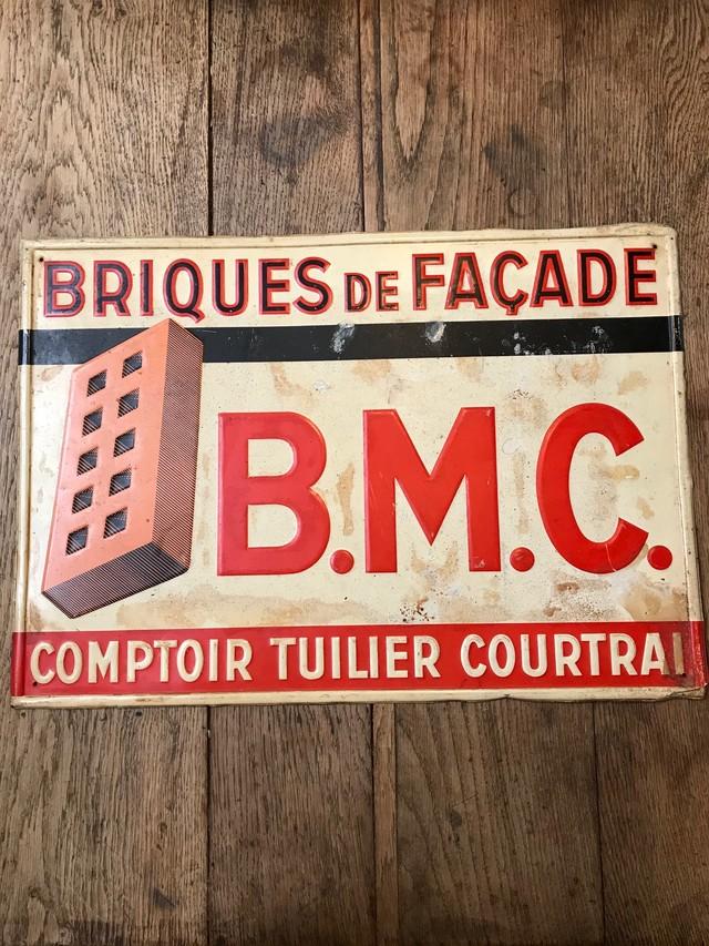 フランス ビンテージ サインプレート 看板