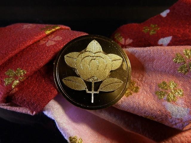 戦国家紋バッチ  (井伊直虎)