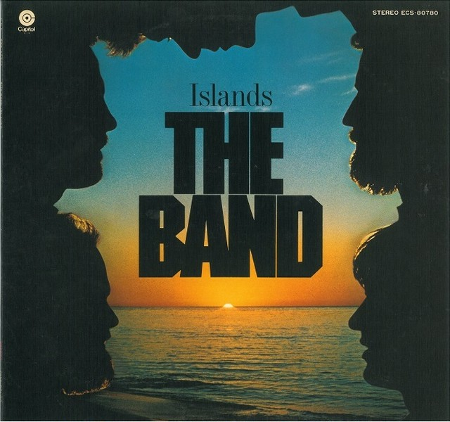 THE BAND / ISLANDS (LP) 日本盤