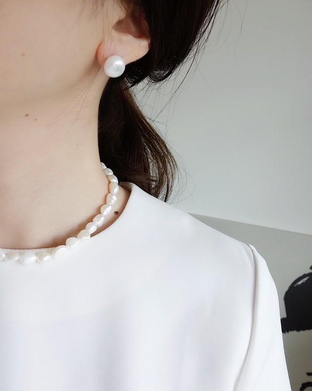 14kgf freshwater pearl pierce