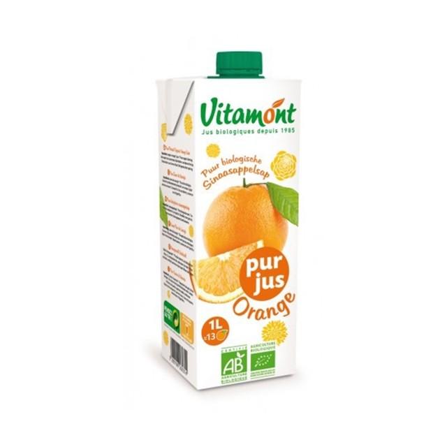 【有機】ヴィタモント オレンジジュース 1L