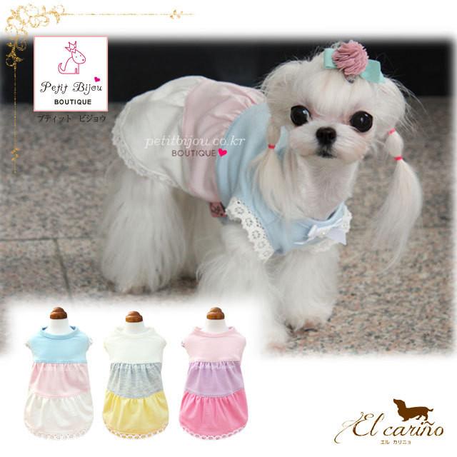 8。Petit Bijou【正規輸入】犬 服 ドレス 春 夏 秋物 ダックス