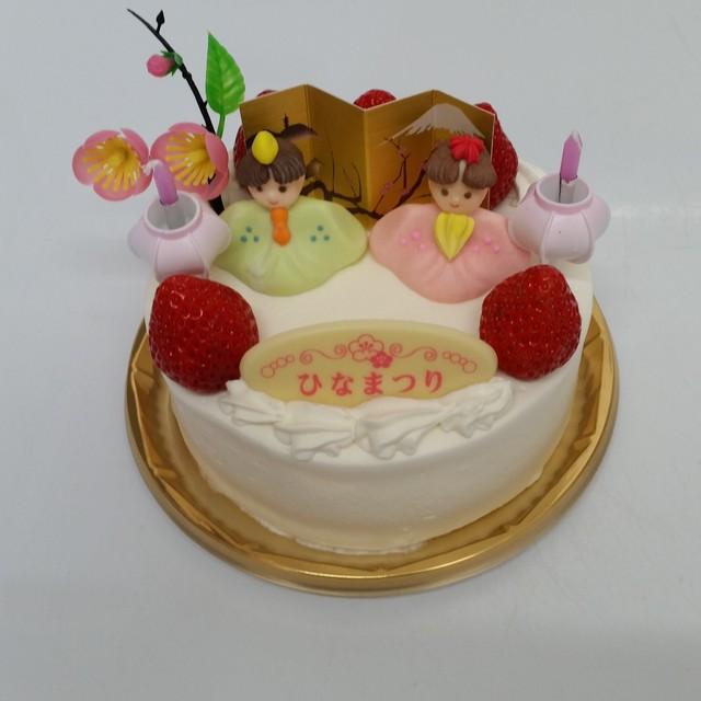 こどもの日・ひな祭りデコレーションケーキ 4号
