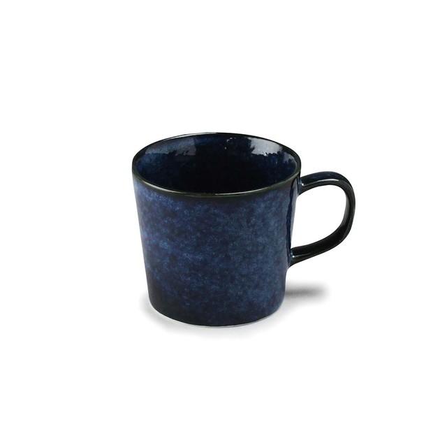 「ナチュラルカラー Natural Color」スタンダード マグカップ 320ml ネイビー 美濃焼 517028