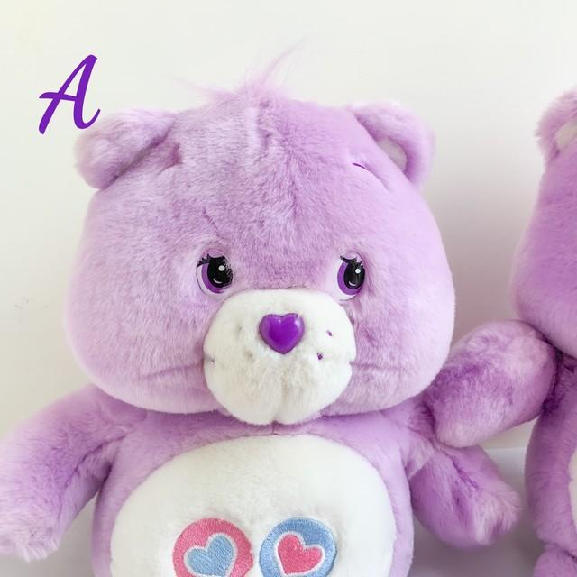 【Care Bears】♡お得価格♡2003,2004年歌うケアベア シンギング シェアベア/ぬいぐるみ