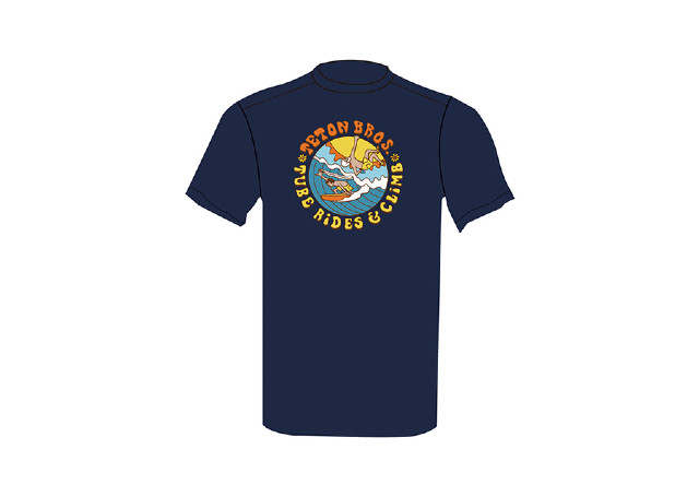 【Teton Bros】 Surf and Climb Tee(Navy)