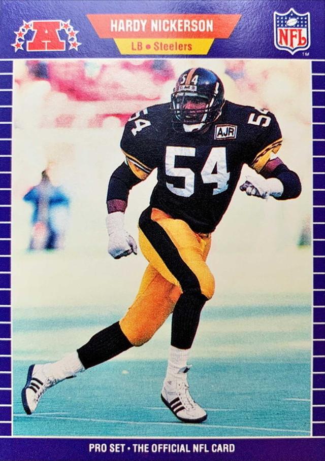 NFLカード 89PROSET HARDY NICKERSON #353 STEELERS