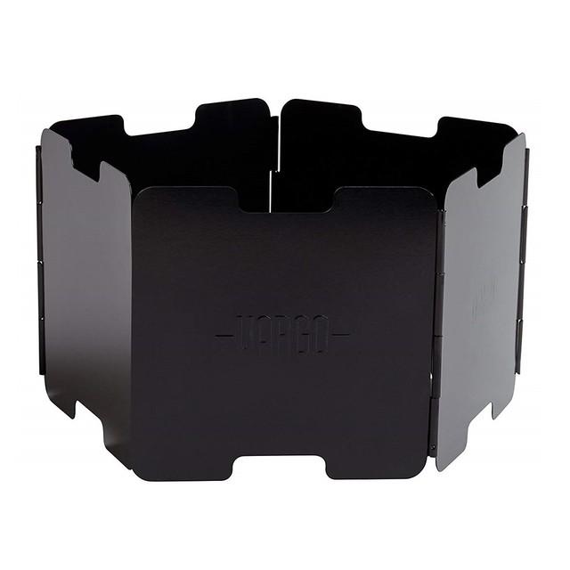 バーゴ アルミニウム ウインドスクリーン ブラックT-422