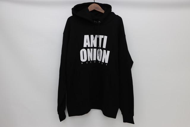 ANTI ONION RECORDS Hoodie (BLACK)
