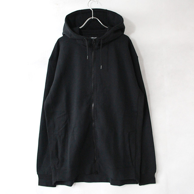 9.1oz Performance Fleece FULL-ZIP Hoodie - Black -
