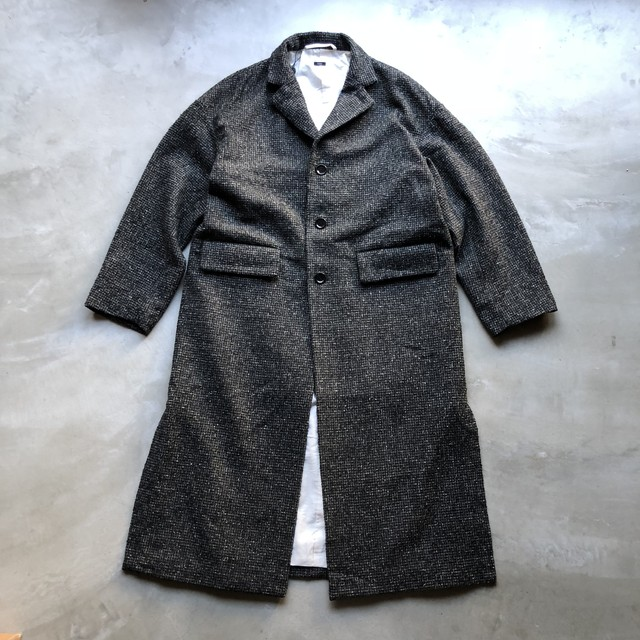 TISSU / WOOL LONG COAT