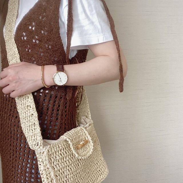 knitting shoulder bag[6/17n-4]