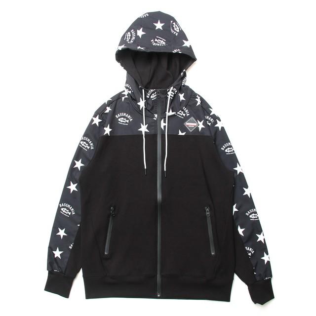 アーチ×スター切替えダイバーストレッチZIPパーカー 【限定生産】