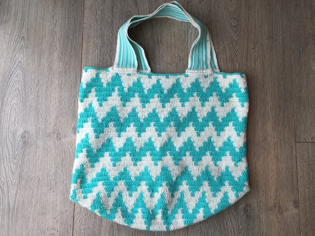 【Pre-order】 ワユーバッグ  (Wayuu bag)  Basic line Tote Lサイズ