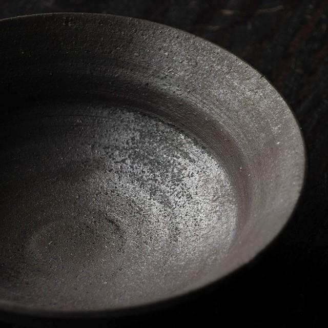 炭化丸浅鉢 tamiya aki