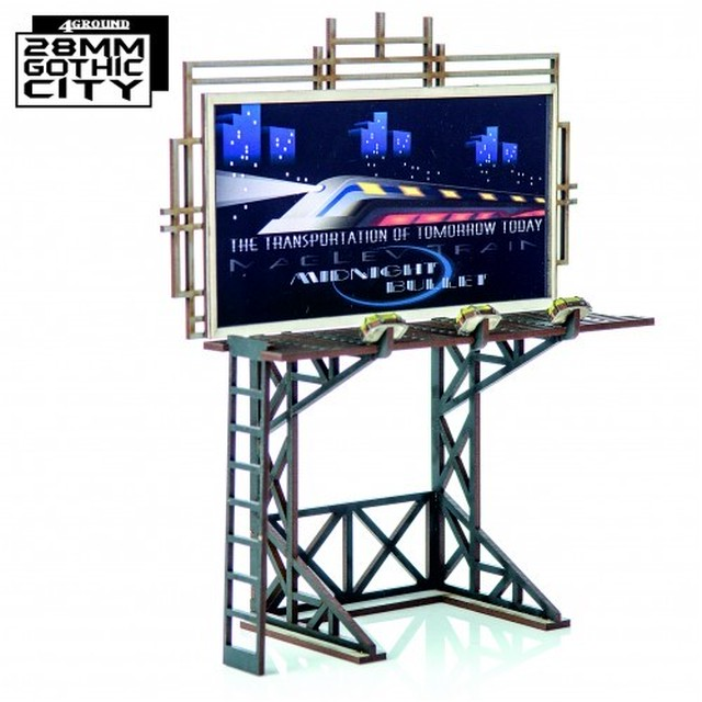 【予約発注】Large Billboard With Platform 28F-GOC-A20