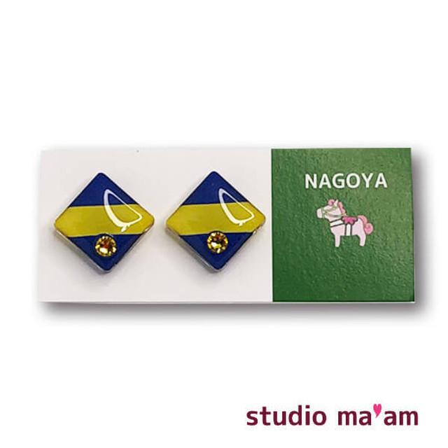 ■NAGOYA-03  ピアス。しかく。〜イヤリング変更可〜